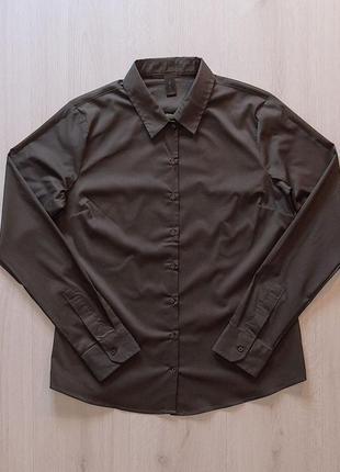 Стильная рубашка блузка piazza italia италия
