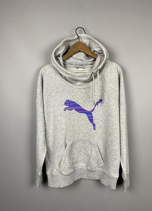 (m) puma худи кенгуру