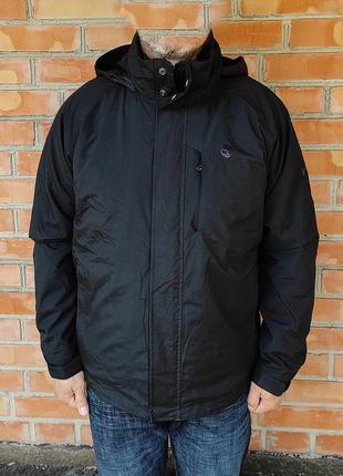 Timberland waterproof куртка утепленная на флисе оригинал (l)