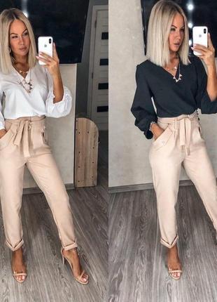 Костюм блузка + брюки
