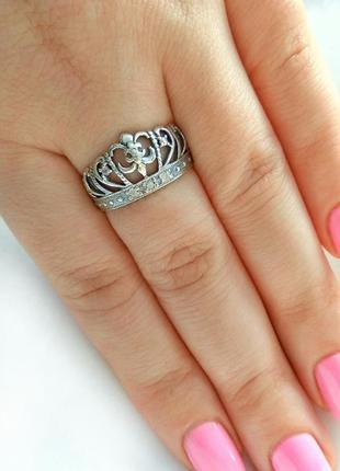 Серебряное кольцо р.17, 19, колечко, серебро 925 пробы