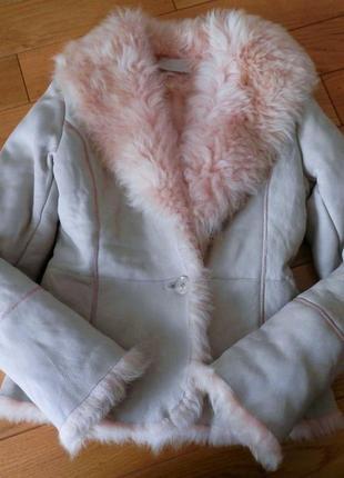 Santa croce firenze - мега стильна сучасна натуральна шуба дубльонка milan