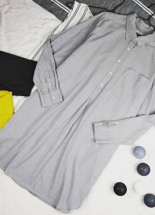 Платье рубашка свободного кроя gap