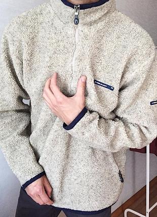 Мужская кофта теплая плюшевая head толстовка