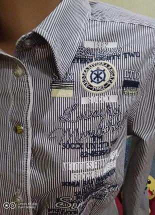 Рубашка высокий рост-бренд-soccx--s-m-идеал