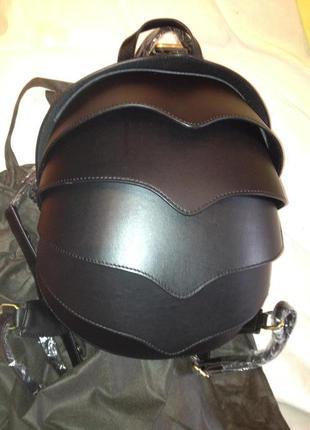 Рюкзак жук панцирь натуральная кожа