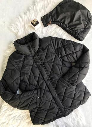 Чёрная куртка осень 🍂 / весна 🌿