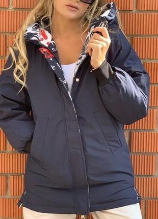Шикарная двухсторонняя курточка турция люкс качество