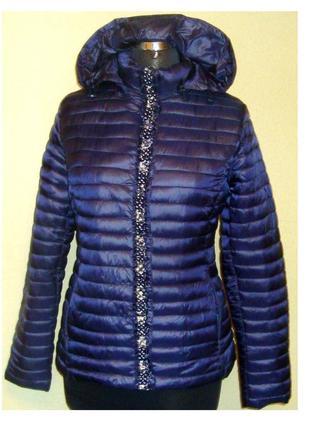 Шикарная итальянская куртка с капюшоном ,mitno, италия,р.44,46,48,52,56