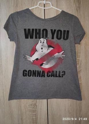 Футболка who you gonna call?, atmosphere