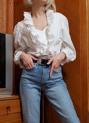 Винтажная блуза в стиле бохо, рустик, прованс, деревенский стиль kruger