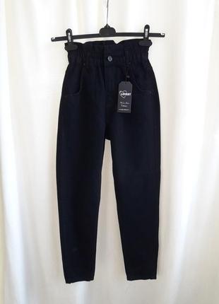 Джинсы moom,момы,джинсы с высокой посадкой турция