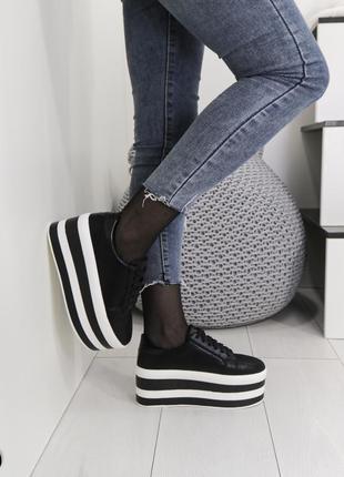 Кроссовки на платформе, туфли на платформе