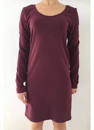 Плаття, платье, базова річ, бордове плаття, сукня.