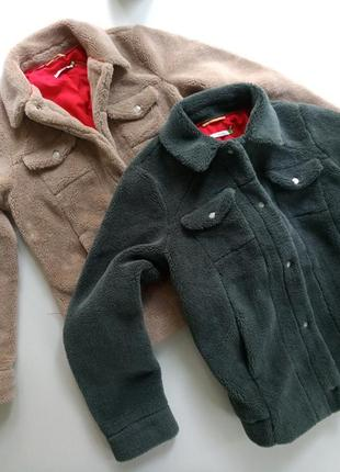 Крутая трендовая меховая куртка тедди от немецкого бренда cecil s-m