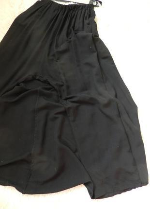 Юбка брюки ткань 100%  штапель натуральная