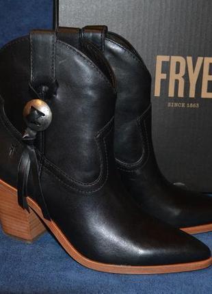 Кожаные сапожки легендарной американской фирмы frye, 100% оригинал