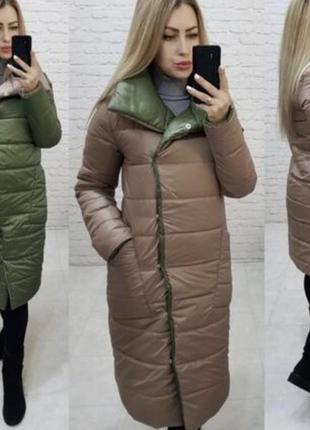 Двухсторонние пальто куртка пуховик