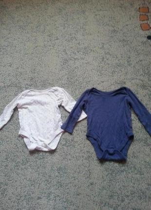 Бодики на девочку 6-9 месяцев