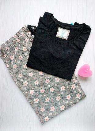 Трикотажная пижама футболка и штаны love to lounge primark