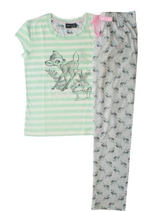 Трикотажная пижама футболка и штаны bembi love to lounge primark