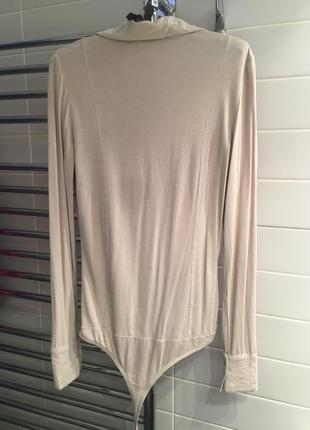 Трикотажная рубашка-боди