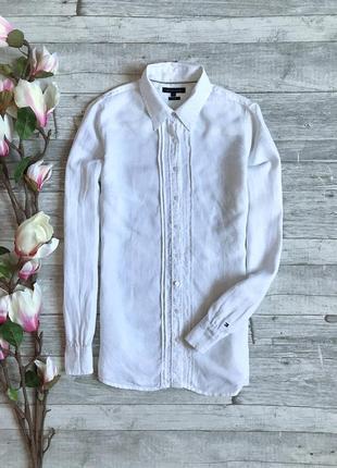 Льняная блуза tommy hilfiger