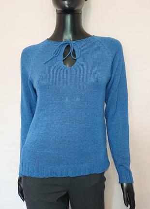 Мягкий свитер из хлопка весна - осень