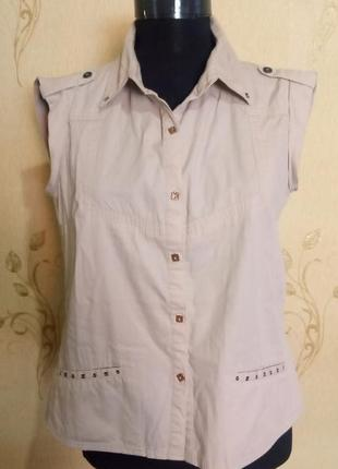 Рубашка безрукавка biaggini
