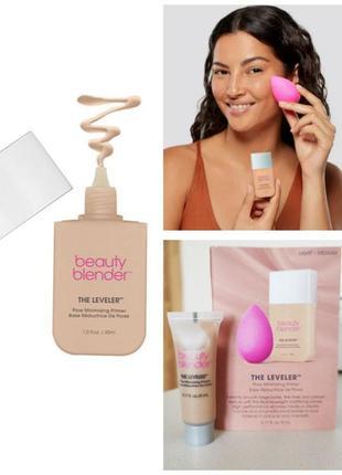 Праймер / затирка для пор beautyblender the leveler™ pore minimizing primer