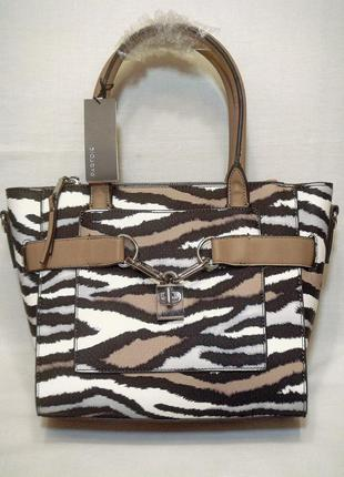 Новая стильная эффектная сумка в руках или через плечо 3 отделения португал.бренд parfois
