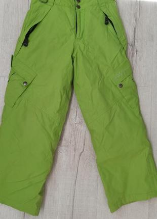Зимние лыжные штаны очень теплые