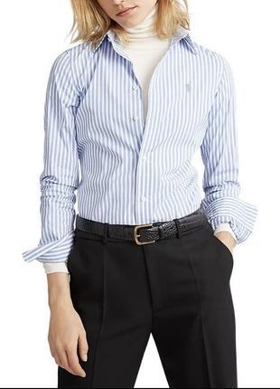 Стильная рубашка polo ralph lauren, рубашка в полоску, классическая рубашка