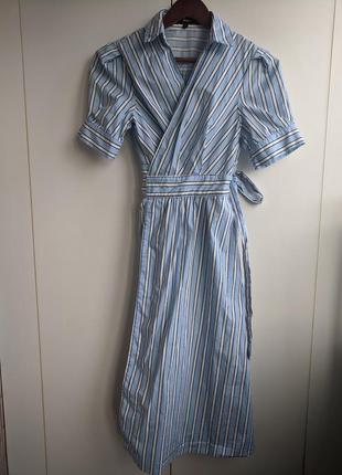 Платье с запахом answear. новое