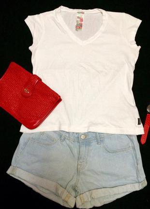 Стильная фирменная белая футболка chicoree,футболочка+подарок