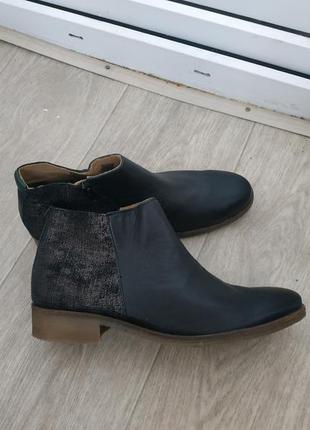 Ботинки р.41 кожа1 фото