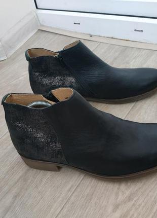 Ботинки р.41 кожа3 фото