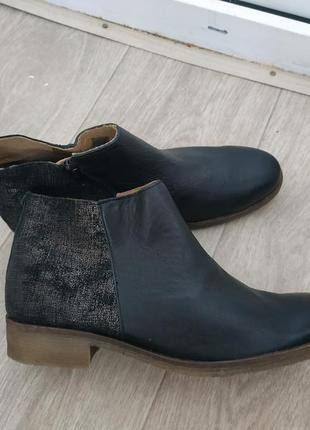 Ботинки р.41 кожа4 фото