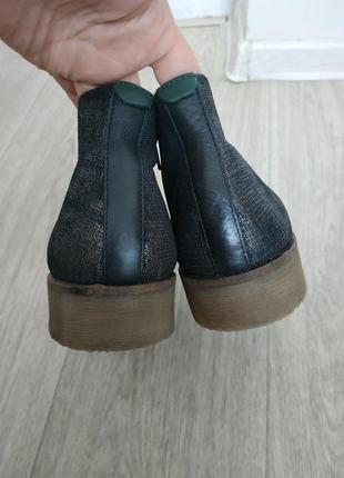 Ботинки р.41 кожа5 фото