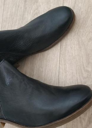 Ботинки р.41 кожа7 фото
