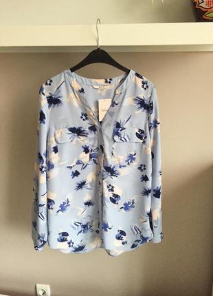 Красивейшая голубая блуза