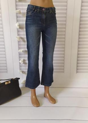Джинсы брюки штаны синие, 10-11лет