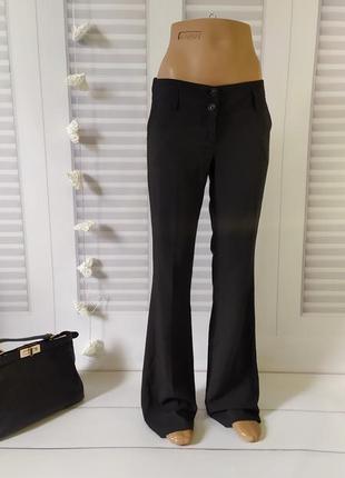 Брюки штаны классика чёрные, s/m