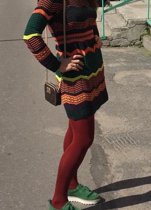 Яркое и красивое платье missoni