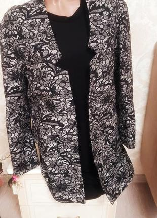 Стильный и качественный удлиненный пиджак ,кардиган naf naf