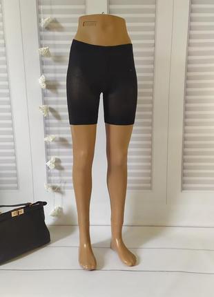 Подштаники шорты утягивающее белье чёрное, s