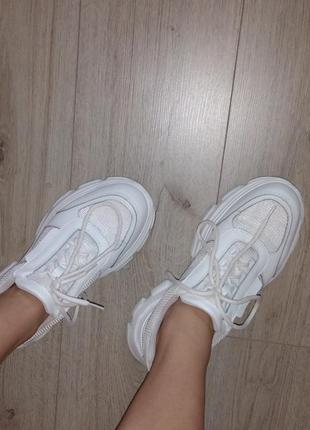 Белые кроссовки 😍