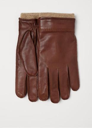 Мужские перчатки кожа р.s