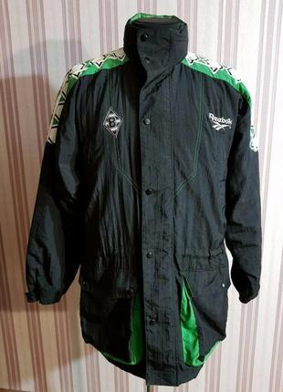 Футбольная куртка reebok borussia размер m-l