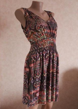 Фирменное платье от warehouse, сарафан, м, сукня